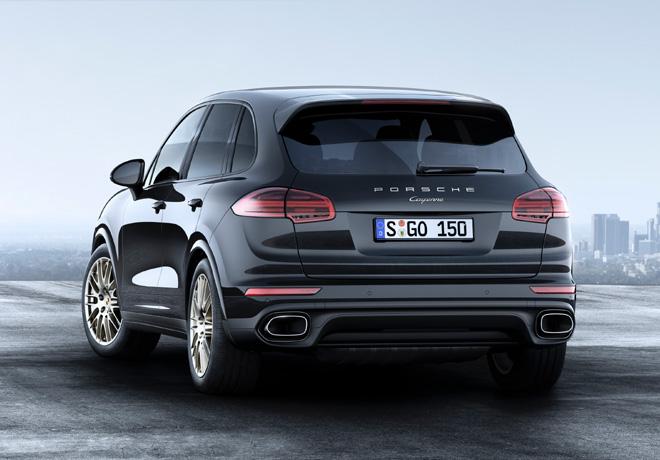 Porsche Cayenne Platinum Edition 2