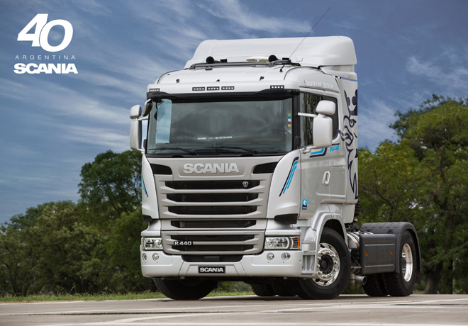 Scania R440 Silver Line Edition 1
