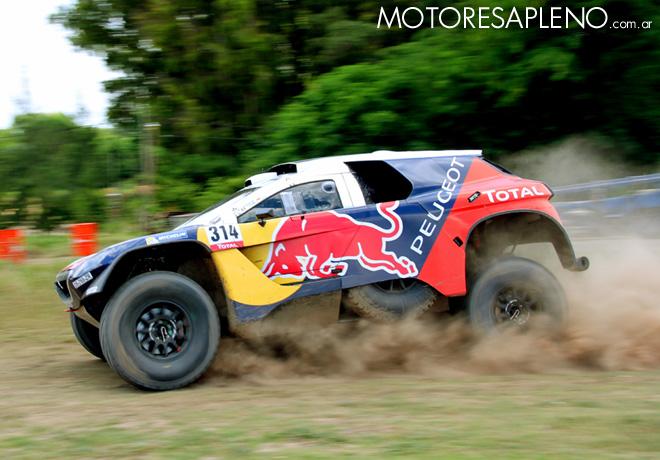 Sebastien Loeb - Peugeot 2008 DKR