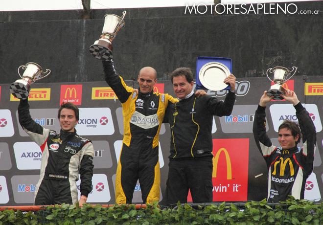 TC2000 - Buenos Aires 2016 - Carrera Final - Matias Galetto - Mariano Pernia - Marcelo Ambrogio - Martin Moggia en el Podio