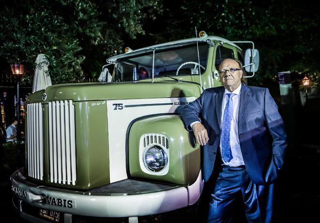 Un historico modelo L75 es el mejor Scania de Argentina