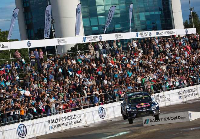 Volkswagen Street Rally Argentina 1