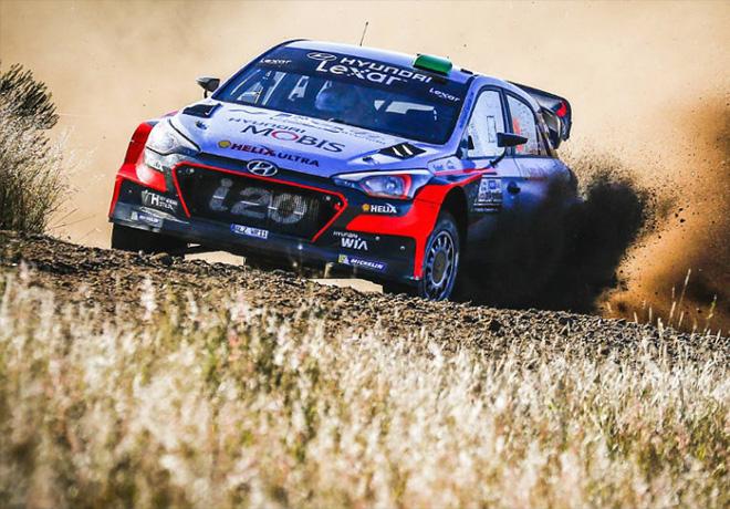 WRC - Argentina 2016 - Dia 2 - Hayden Paddon - Hyundai i20