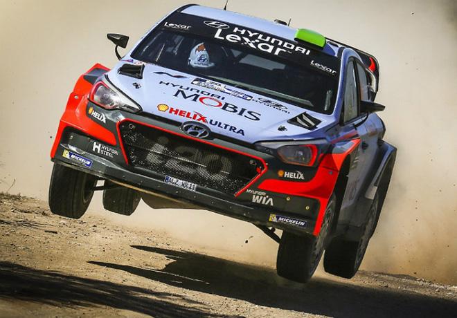 WRC - Argentina 2016 - Final - Hayden Paddon - Hyundai i20