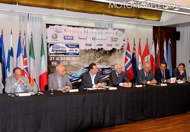 WRC - Presentacion del Rally Argentina 2016 en el ACA 1