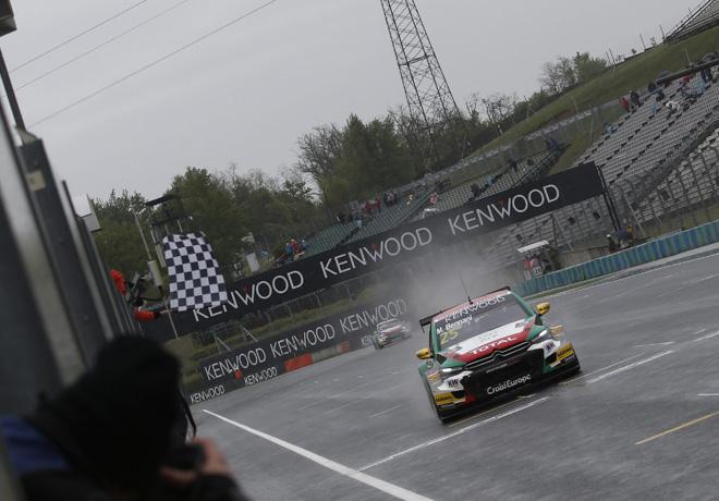 WTCC - Hungaroring - Hungria 2016 - Carrera 1 - Mehdi Bennani - Citroen C-Elysee