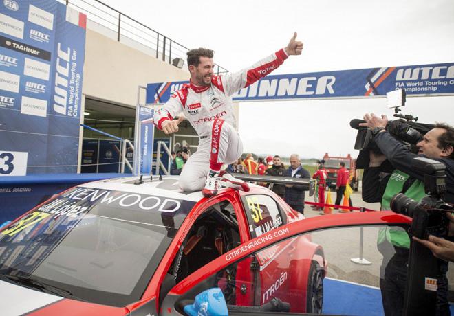 WTCC - Paul Ricard - Francia 2016 - Carrera 2 - Jose Maria Lopez - Citroen C-Elysee