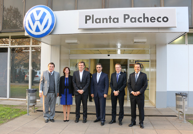Acuerdo VW y BaPro - Claudio Besco - Maria Angela Stelzer - Martin Etchegoyen - Pablo Di Si - Juan Curutchet - Hernan Vazquez