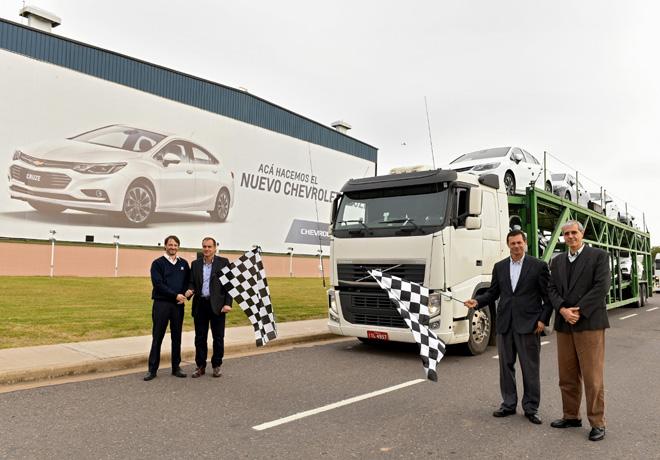 Chevrolet - Inicio de exportacion del Nuevo Cruze 1