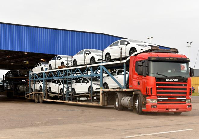 Chevrolet - Inicio de exportacion del Nuevo Cruze 2
