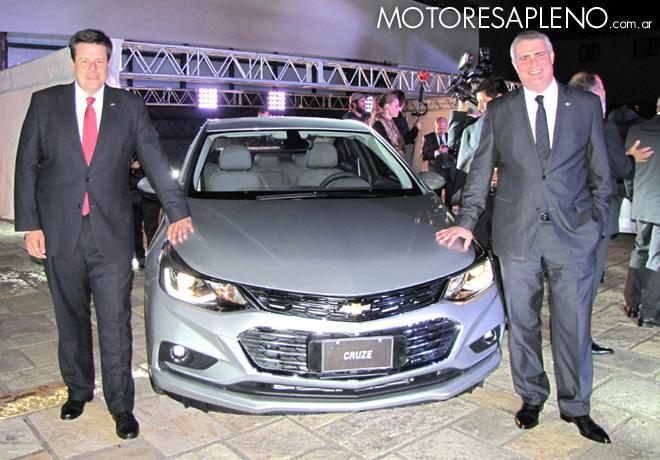 Chevrolet - Presentacion Nuevo Cruze en Bariloche 1