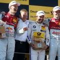 DTM - Spielberg 2016 - Carrera 2 - Mattias Ekström - Timo Glock - Jamie Green en el Podio