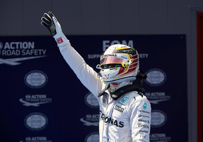F1 - Espana 2016 - Clasificacion - Lewis Hamilton - Mercedes GP