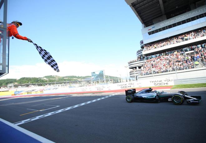 F1 - Rusia 2016 - Carrera - Nico Rosberg - Mercedes GP