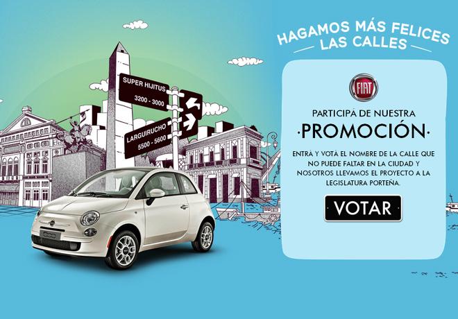 """Fiat presenta la campaña """"Calles Felices""""."""