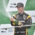 IndyCar - Indianapolis 2016 - Carrera - Simon Pagenaud en el Podio