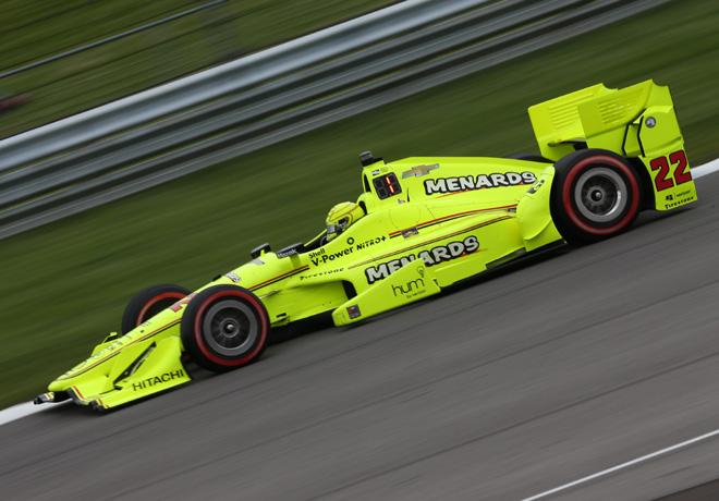 IndyCar - Indianapolis 2016 - Carrera - Simon Pagenaud