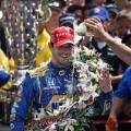 IndyCar - Indianapolis 500 2016 - Alexander Rossi en el Victory Lane