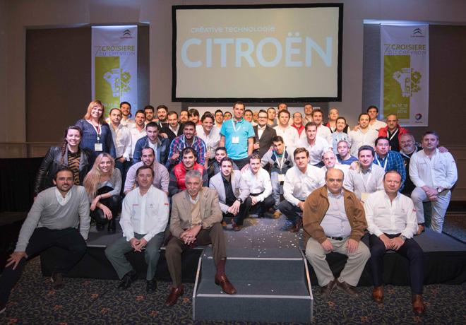 La Crosiere Du Chevron - Citroen postventa puso a prueba a sus mejores tecnicos 6