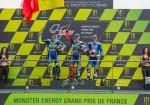 MotoGP - Le Mans 2016 - Valentino Rossi - Jorge Lorenzo - Maverick Vinales en el Podio