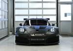 Porsche - El nuevo auto para las categorias GTE-GTLM para 2017 en el Centro de Motorsport de Flacht