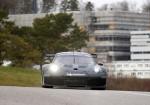 Porsche - El nuevo auto para las categorias GTE-GTLM para 2017 hace sus pruebas dinamicas en la pista de Weissach 1