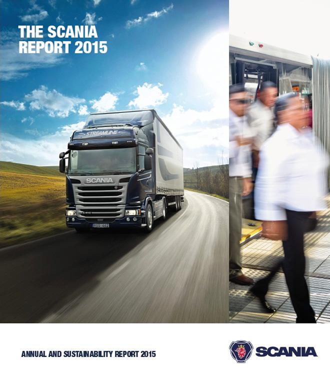 Scania - Reporte de Sustentabilidad 2015