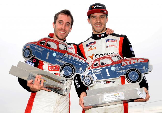 TC - Olavarria 2016 - Esteban Guerrieri y Matias Rossi en el Podio