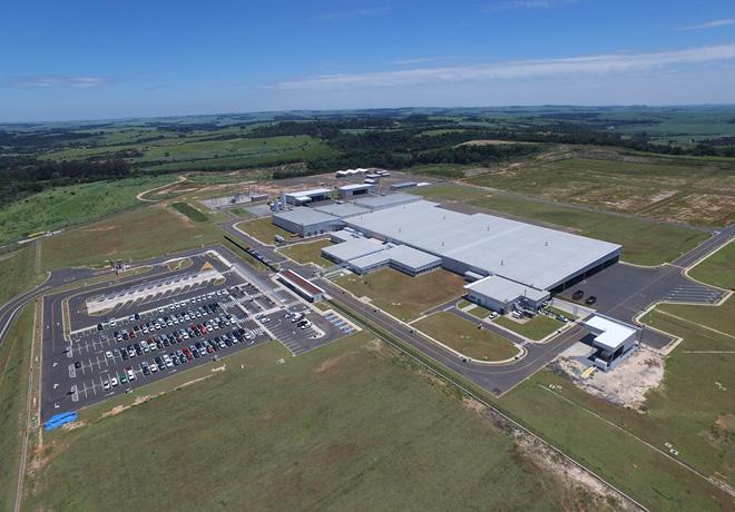 Toyota abre una nueva fabrica de motores en Porto Feliz - San Pablo - Brasil
