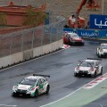 WTCC - Marrakech - Marruecos 2016 - Carrera 2 - Rob Huff - Norbert Michelisz - Tiago Monteiro - Honda - Jose Maria Lopez - Citroen