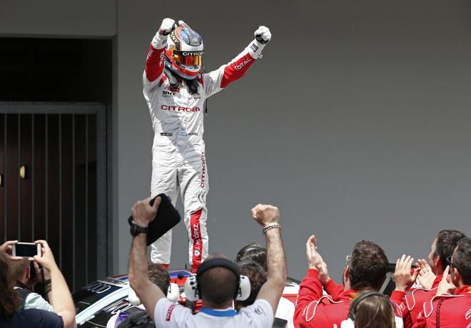 WTCC - Nurburgring - Alemania 2016 - Carrera 2 - Jose Maria Lopez - Citroen C-Elysee