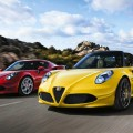 Alfa Romeo 4C Spider for rent 1