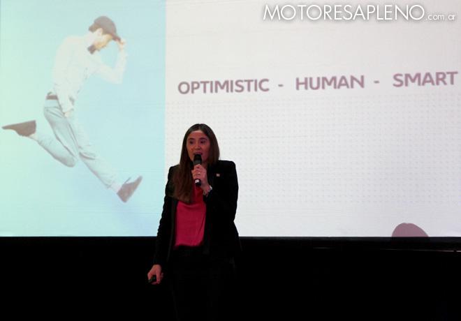 Citroen - Valentina Solari en la presentacion de la nueva gama C4 Lounge