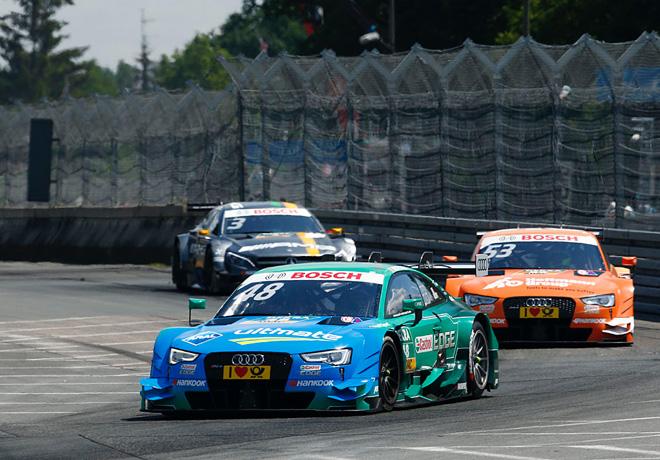 DTM en Norisring – Carrera 1: Día glorioso para Mortara y Audi.