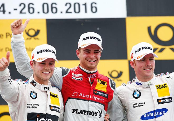 DTM en Norisring – Carrera 2: Primera victoria de Nico Müller.
