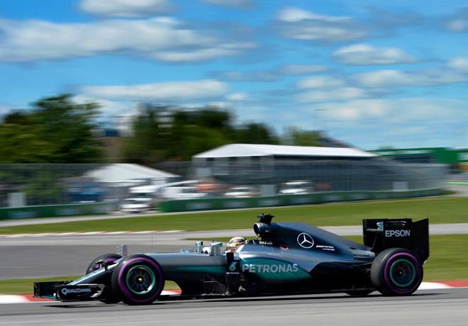 F1 - Canada 2016 - Clasificacion - Lewis Hamilton - Mercedes GP