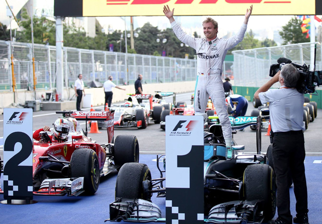 F1 - GP de Europa - Baku 2016 - Carrera - Nico Rosberg - Mercedes GP