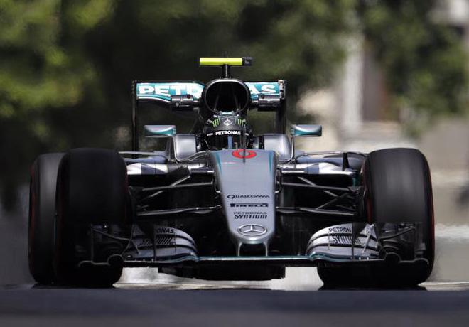 F1 - GP de Europa - Baku 2016 - Clasificacion - Nico Rosberg - Mercedes GP