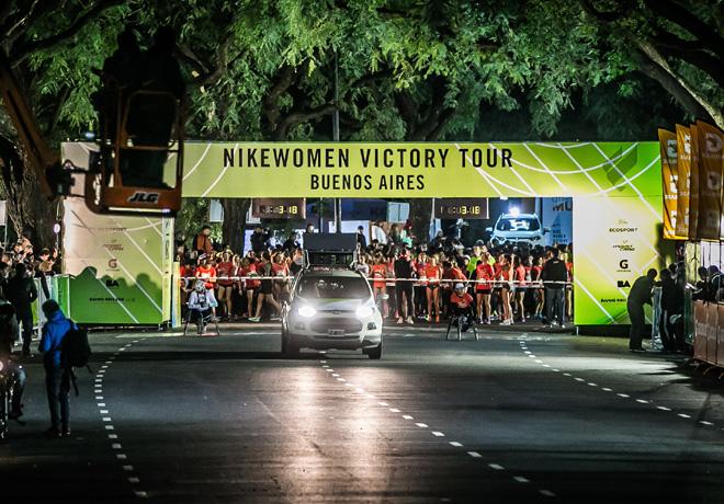 Ford participo de la Nike Women Victory Tour con la EcoSport como Sponsor oficial 2