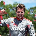 IndyCar - Road America 2016 - Carrera - Will Power en el Victory Lane