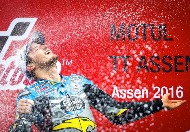 MotoGP en Assen – Carrera: Sensacional primera victoria de Jack Miller. Se cayó Rossi cuando era puntero.