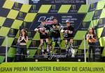 MotoGP - Catalunya 2016 - Marc Marquez - Valentino Rossi - Dani Pedrosa en el Podio