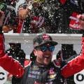NASCAR - Pocono 2016 - Kurt Busch en el Victory Lane