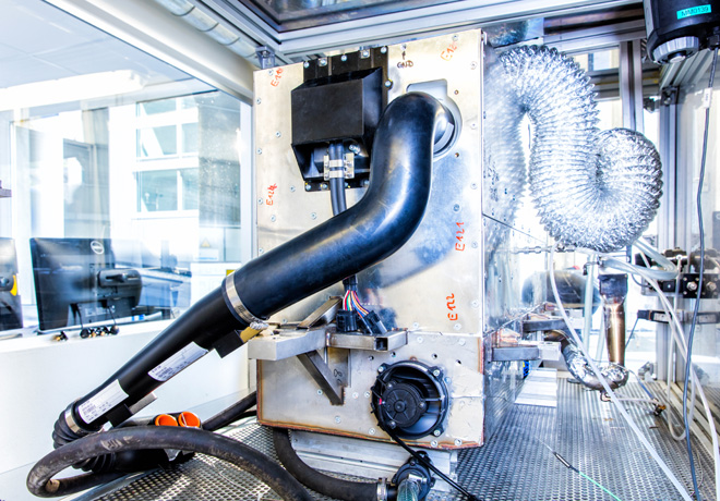Nissan - Sistema de energia de Celdas de Combustible de Oxido Solido - SOFC