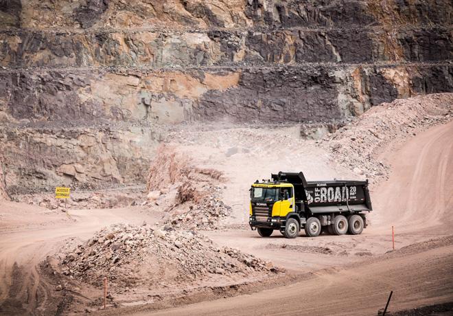 Scania estara presente en la VI Exposicion Minera Internacional en San Juan