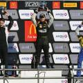 TC2000 - La Plata 2016 - Carrera Final - Augusto Scalbi - Antonino Garcia - Pablo Vuyovich en el Podio