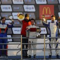 TC2000 - La Plata 2016 - Carrera Sprint - Emmanuel Caceres - Juanjo Monteagudo - Gianfranco Collino - Tomas Cingolani en el Podio