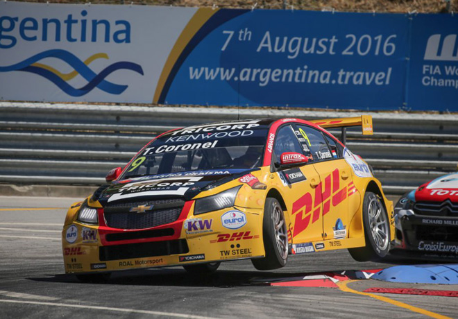 WTCC - Vila Real - Portugal 2016 - Carrera 1 - Tom Coronel - Chevrolet Cruze