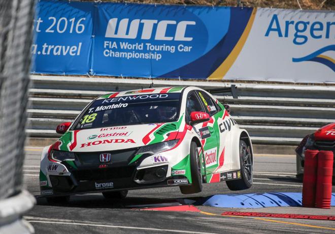 WTCC - Vila Real - Portugal 2016 - Carrera 2 - Tiago Monteiro - Honda Civic