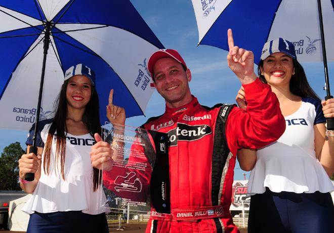 Abarth Punto Competizione - Obera 2016 - Carrera 1 - Daniel Belli